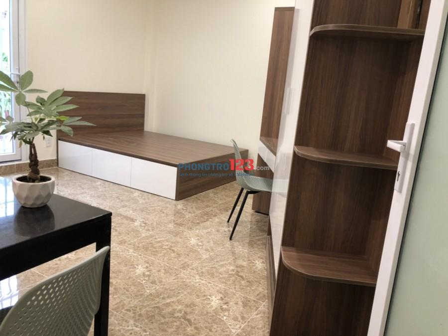Cho thuê CHDV 35m2 đầy đủ nội thất mới cao cấp tại Khánh Hội P3 Q4 ngay chân cầu Kênh Tẻ