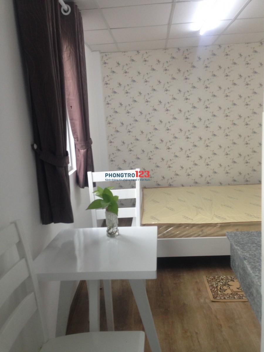 Cho thuê phòng full nội thất (ngay chợ bà chiểu)