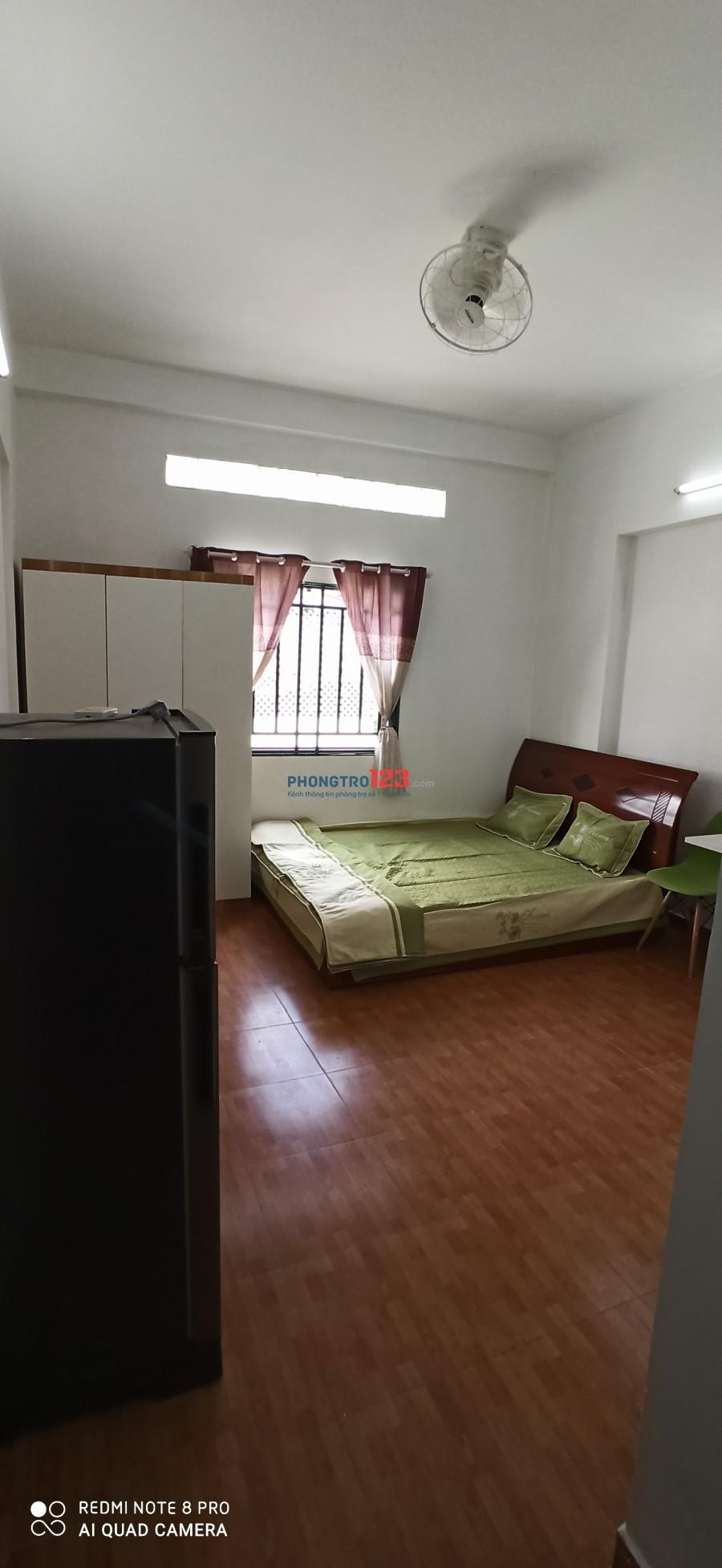 Căn hộ mini 35m2 đủ tiện nghi Đường Tân Hương