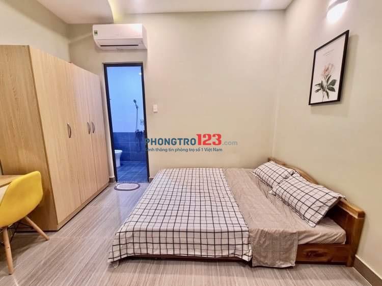 Cho thuê căn hộ dịch vụ, full nội thất, giá rẻ