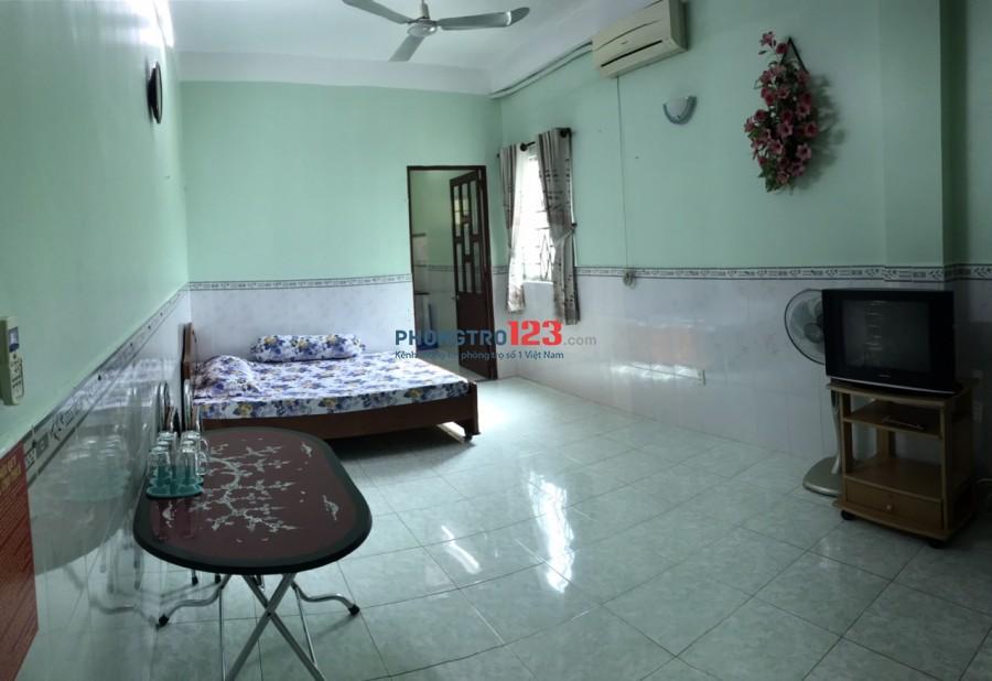 Cho thuê phòng 40m2 đầy đủ nội thất nhà hẻm xe hơi tại hẻm 332 Phan Văn Trị P11 BThạnh