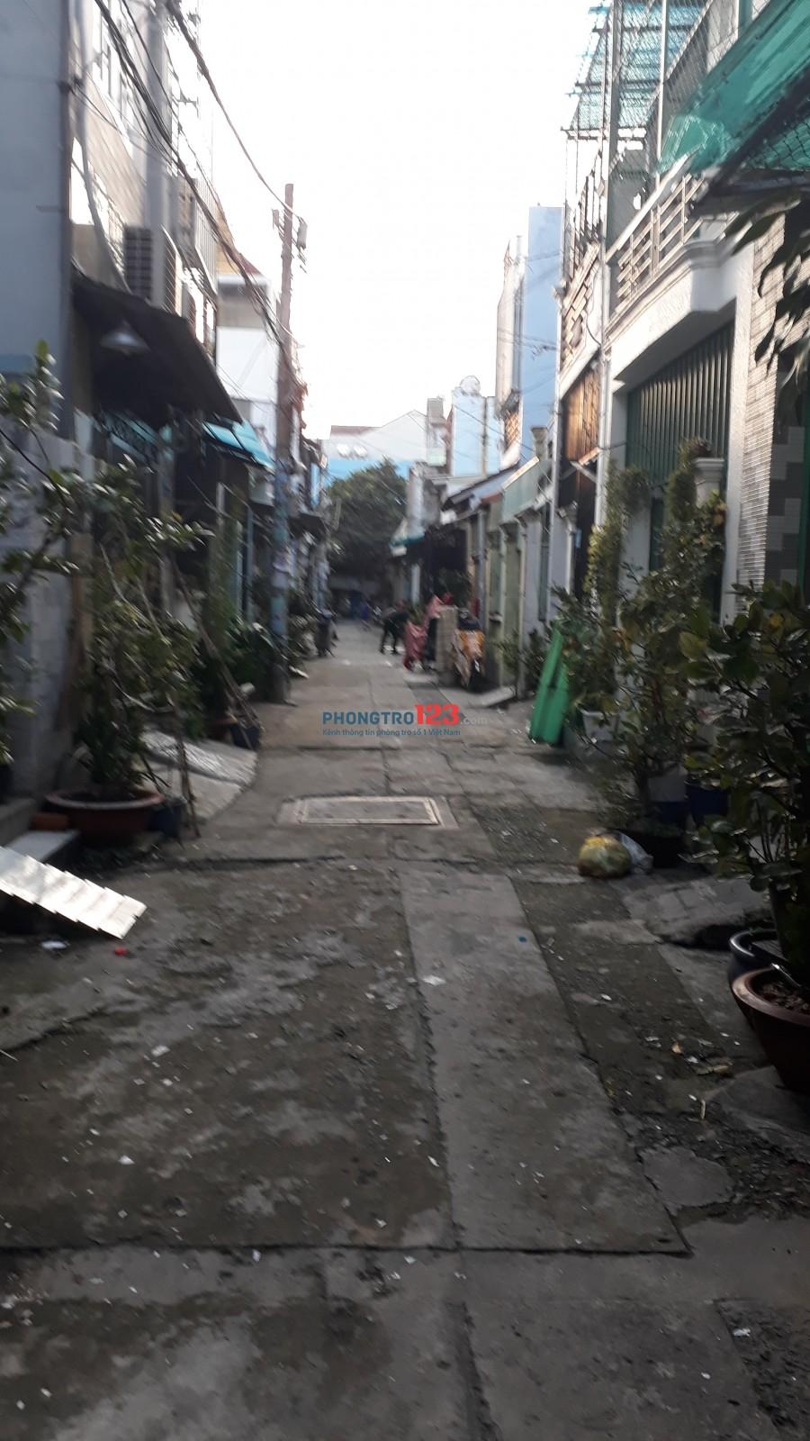 Cho thuê nhà nguyên căn quận Bình Tân, phường Bình Hưng Hòa