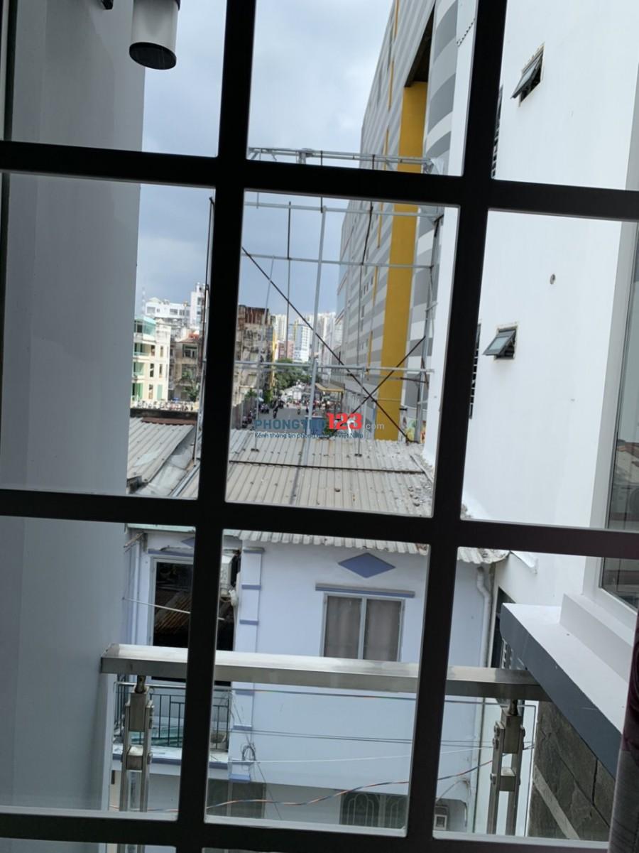 Cho thuê phòng mới 35m2 đầy đủ nội thất tại Sư Vạn Hạnh P12 Q10 gần Vạn Hạnh Mall
