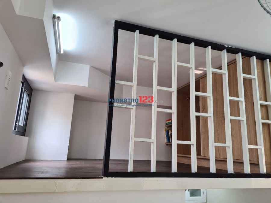 Phòng Gác Lửng full nội thất an ninh giá rẻ
