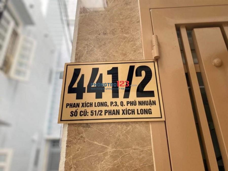!! PHÒNG MỚI FULL TIỆN NGHI ĐƯỜNG PHAN XÍCH LONG !!