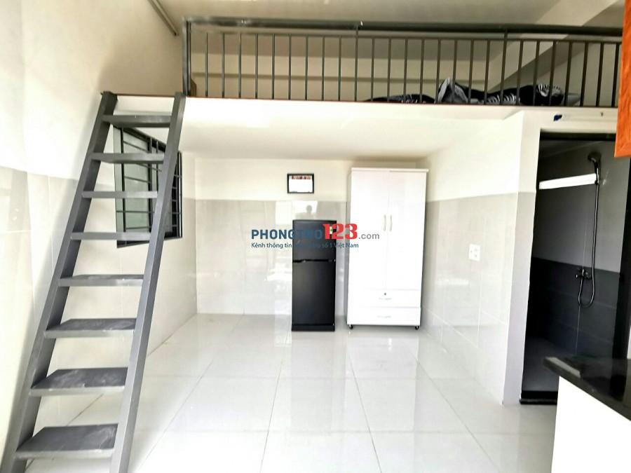 Phòng trọ Phú Nhuận gần CV Gia Định_Ban Công MỚI 100%_ gác lửng giá RẺ