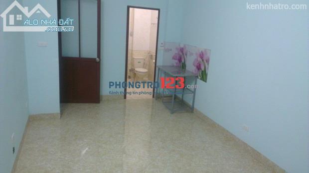 Cho thuê phòng trọ mới xây 20m2 khép kín tại Bằng B, KĐT Linh Đàm