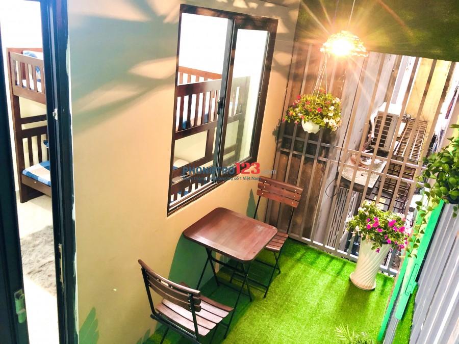 Phòng trọ đẹp hướng ban công cho thuê giá rẻ