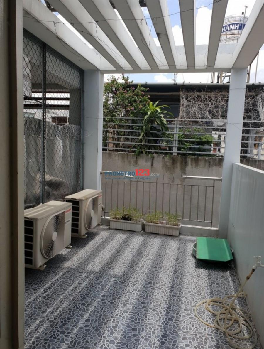 Cho thuê NNC mới xây full Máy lạnh, nội thất