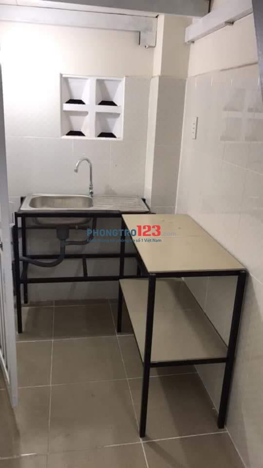 Cho thuê trọ đường Chu Văn An P. 15 Bình Thạnh giá 3,5tr/phòng như thông tin đăng