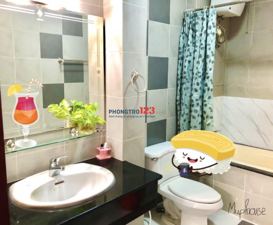 Cho thuê căn hộ mini khu phố tây Xuân Thủy, full Nội Thất