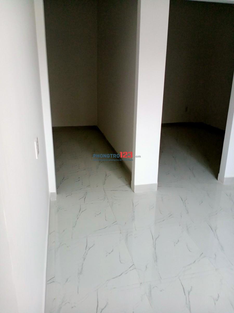 Phòng 45m2 có 2 phòng ngủ 1 tollet, mới xây gần Trường Chinh