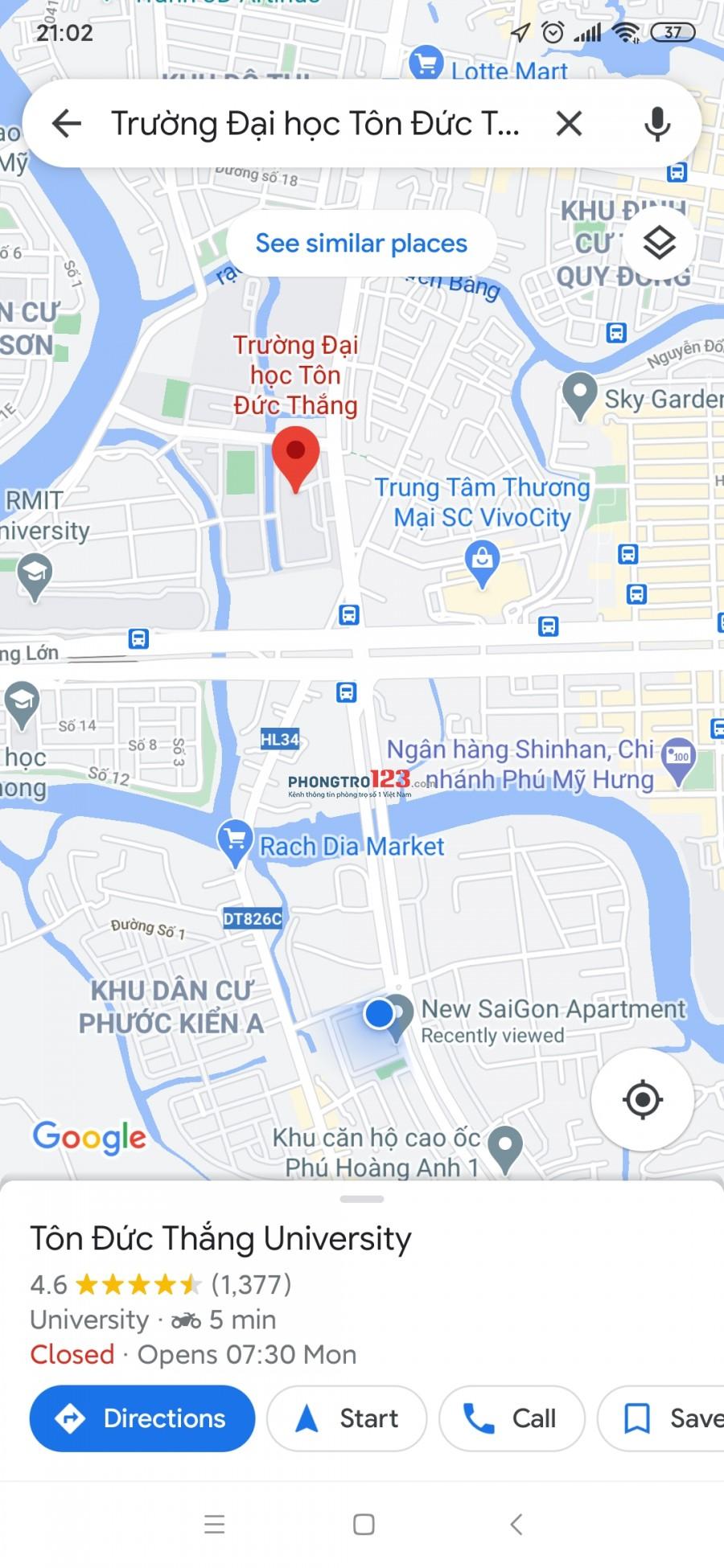 Mình cần tìm thêm 1 bạn nữ ở ghép phòng 2 người tại căn hộ Hoàng Anh New Saigon