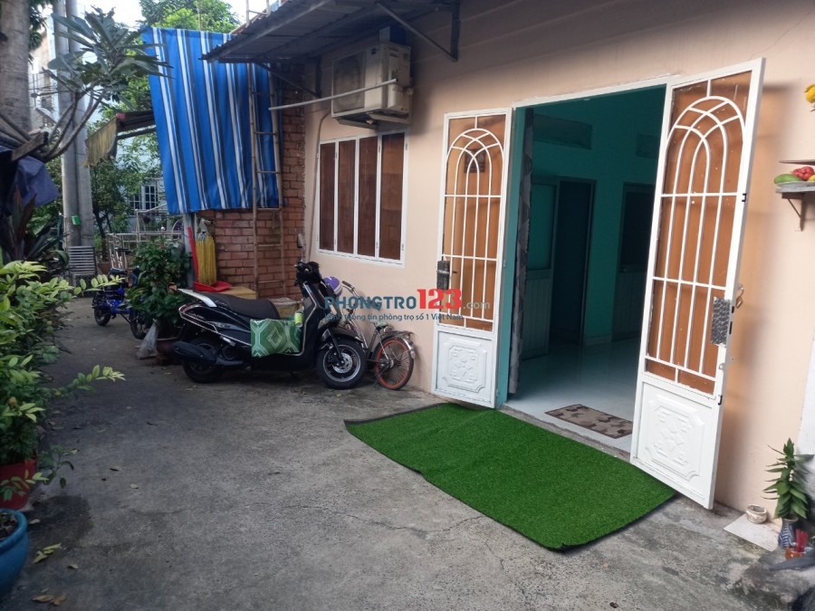 Cho thuê nhà nguyên căn HXH tại 78/36 Đường số 6 P Tam Phú Thủ Đức