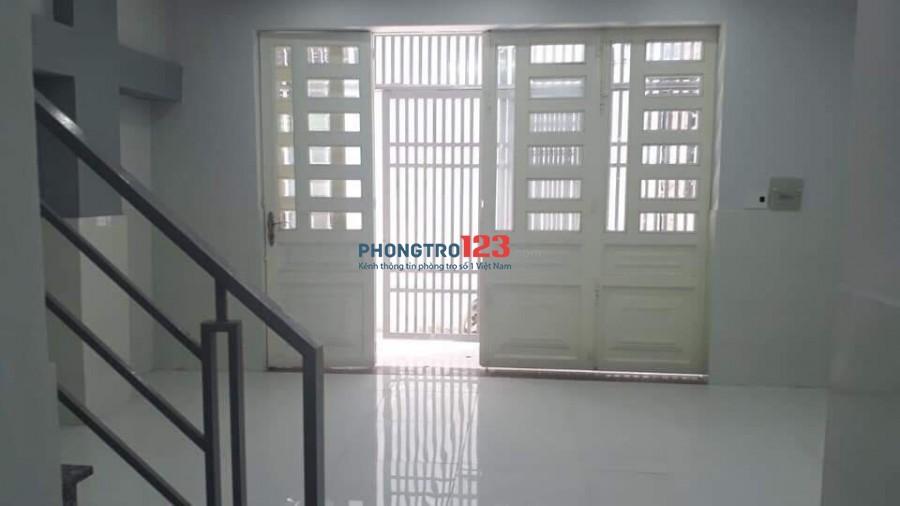 Cho thuê nhà mới NC 5x9 1 trệt 1 lầu 29/10 Đường số 15 P Hiệp Bình Phước Q Thủ Đức Giá 7tr/th