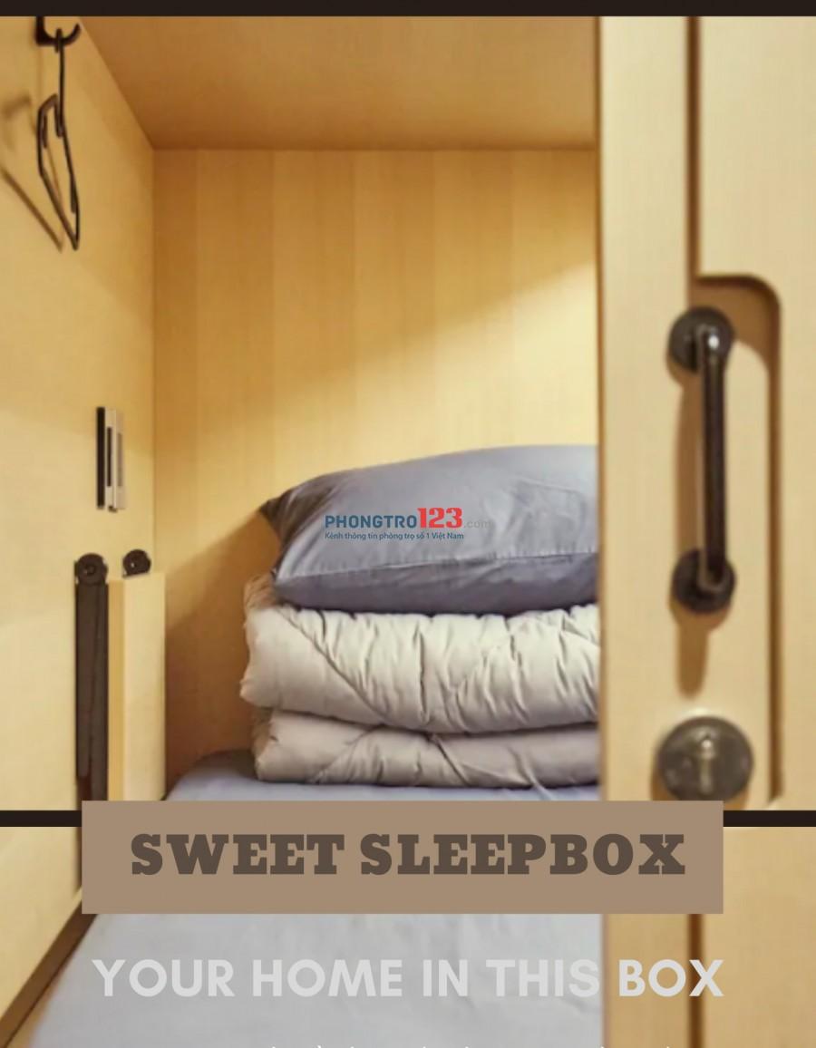 Cho thuê kí túc xá. Sweet SleepBox tái tạo không gian ngủ của bạn.