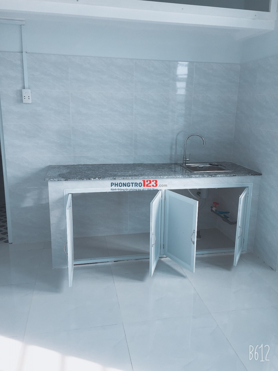 Cho thuê Phòng trọ mặt tiền 1124 Quang Trung F8 GV