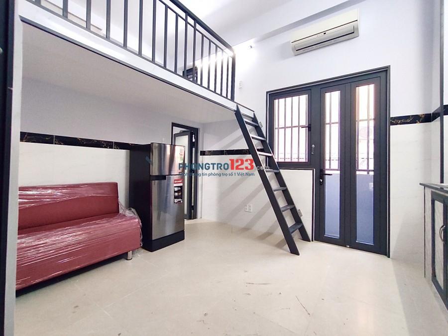 Phòng trọ cao cấp BAN CÔNG full nội thất MÁY GIẶT RIÊNG Lâm Văn Bền quận 7