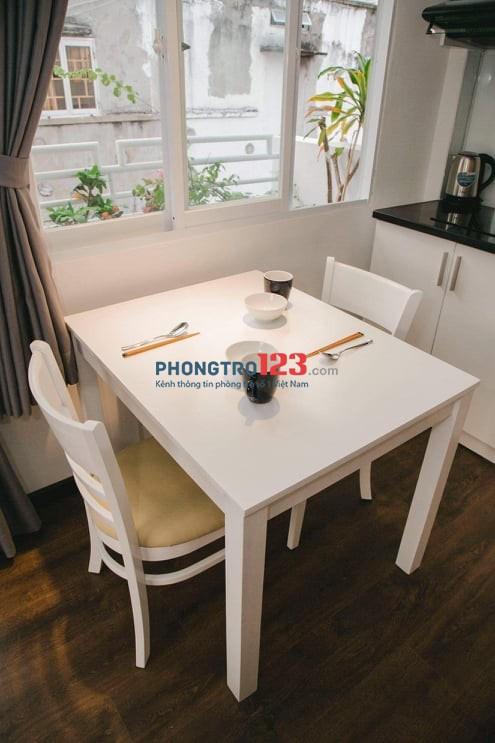 Cho thuê căn hộ mini quận 1,30m2, đường Trần Hưng Đạo,giảm giá sốc chỉ 7tr