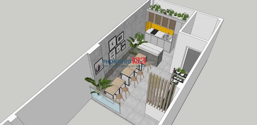 Cho thuê văn phòng có sẵn nội thất tại 142/24 Ngô Tất Tố P22 Bình Thạnh giá từ 8tr/th