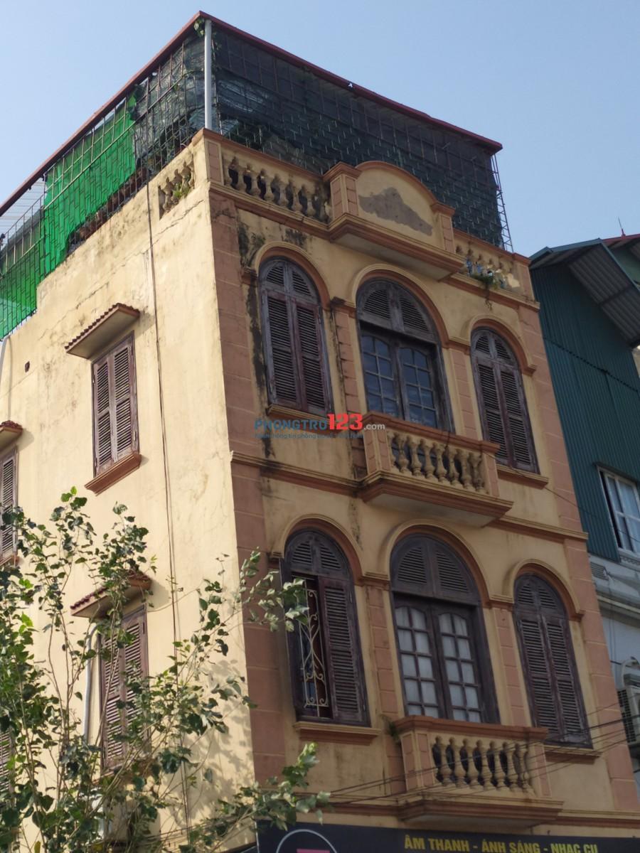 Cho thuê nhà nhà mặt đường 36m2 Yên Sở HM Hà Nội