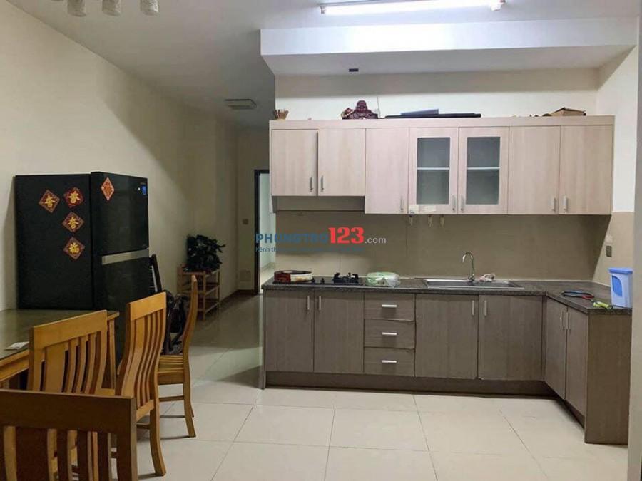 Cần cho thuê căn hộ 50M2-1PN Đầy đủ nội thất 8x Đầm Sen, quận Tân Phú (Đoạn ngã tư Tô Hiệu và Hoà Bình).