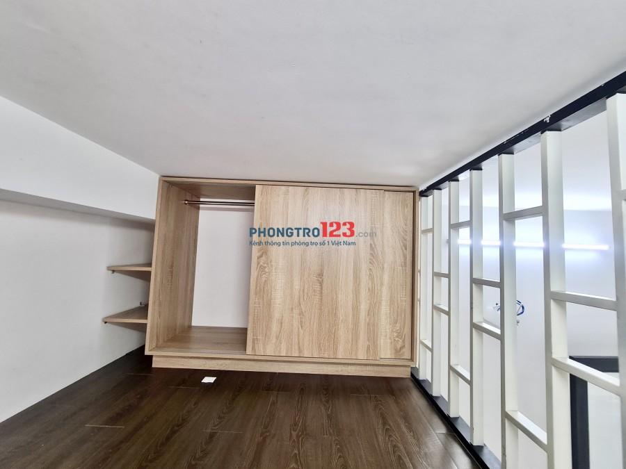 Phòng trọ Quận Bình Thạnh 25m² Điện Biên Phủ có gác