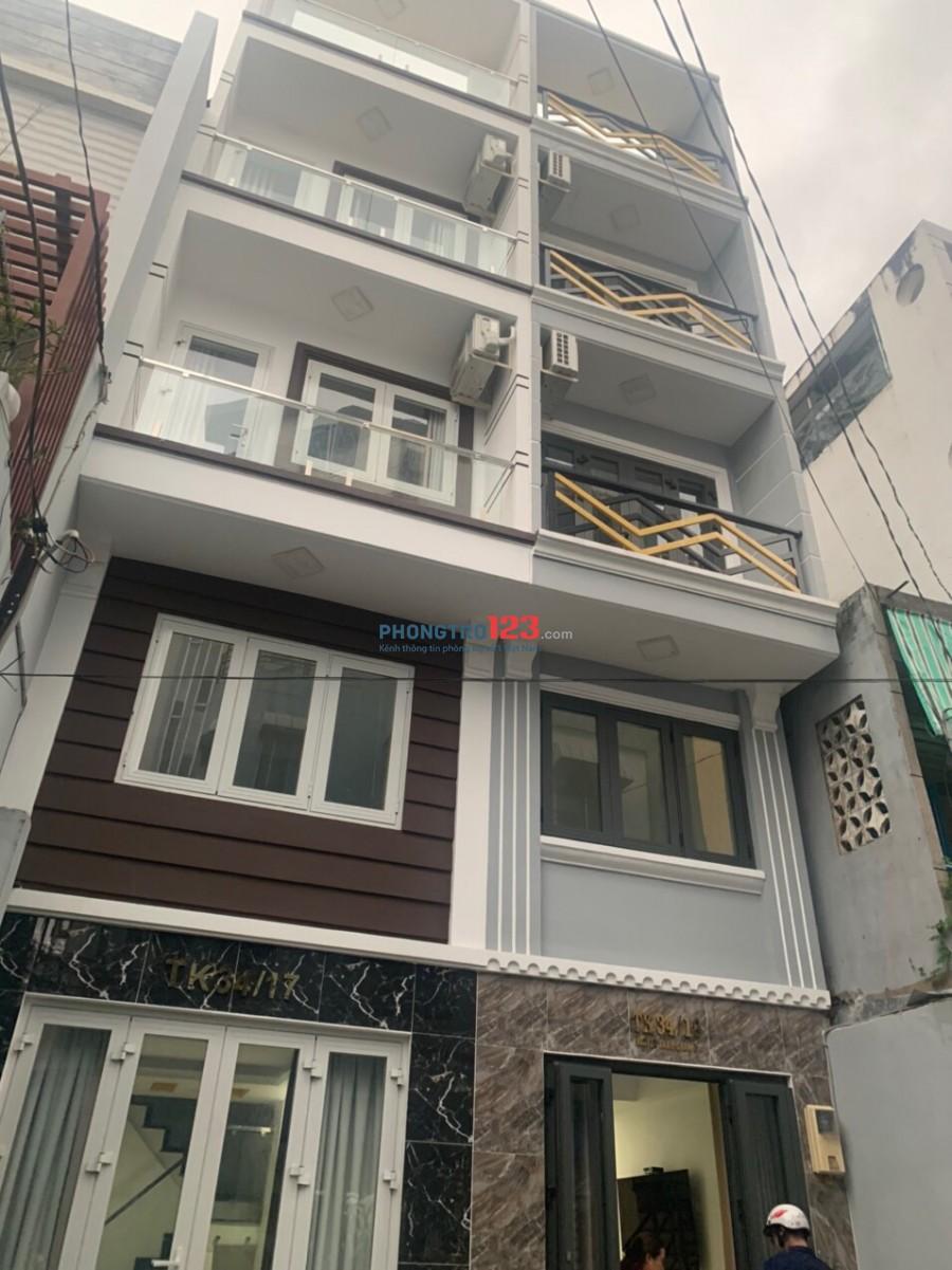 Phòng cao cấp mới 100% hẽm xh ngay Nguyễn Cảnh Chân, Q1