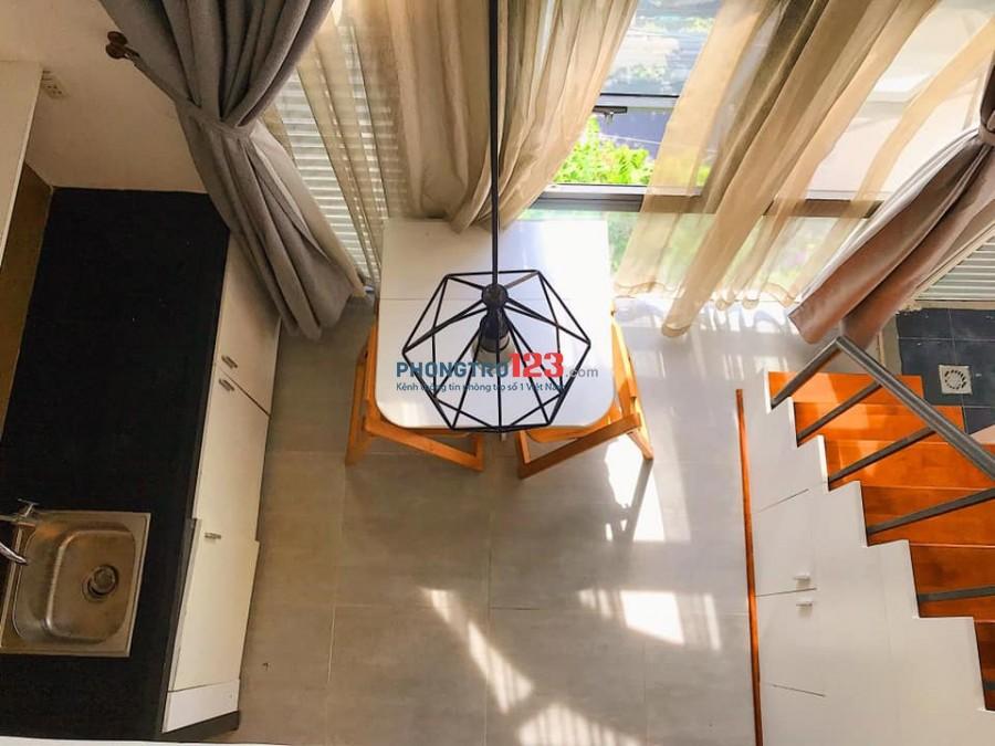 Cho thuê Căn hộ mini - 35m2 - Full nt - máy giặt riêng - gần nhà thi đấu đa năng quận 7