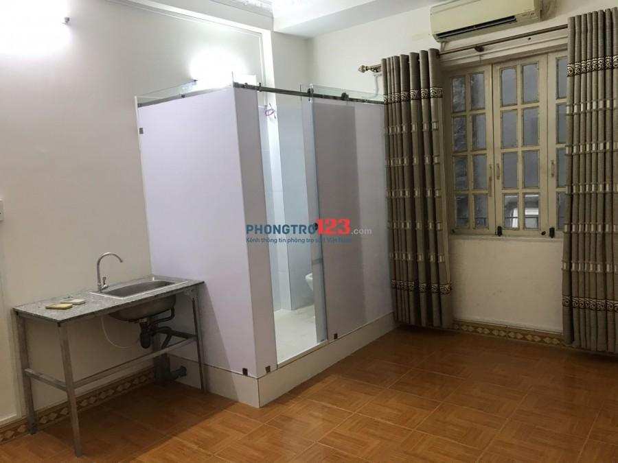 Cho thuê phòng 25m2 có nội thất tại hẻm 860 Xô Viết Nghệ Tĩnh P25 BThạnh giá 5tr/th