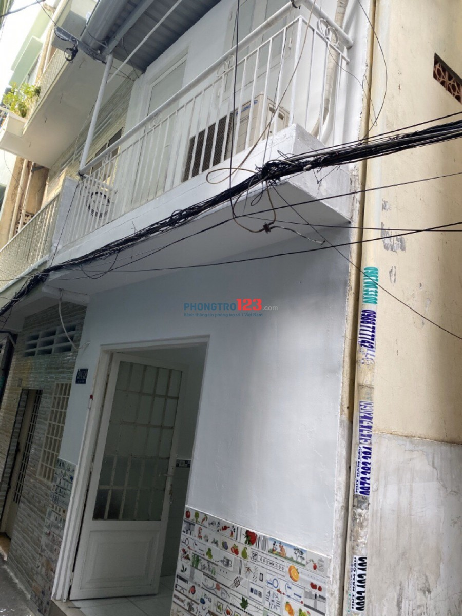Chính chủ cho thuê nhà nguyên căn 1 trệt 1 lầu tại Võ Văn Tần P5 Q3 giá 9tr/tháng