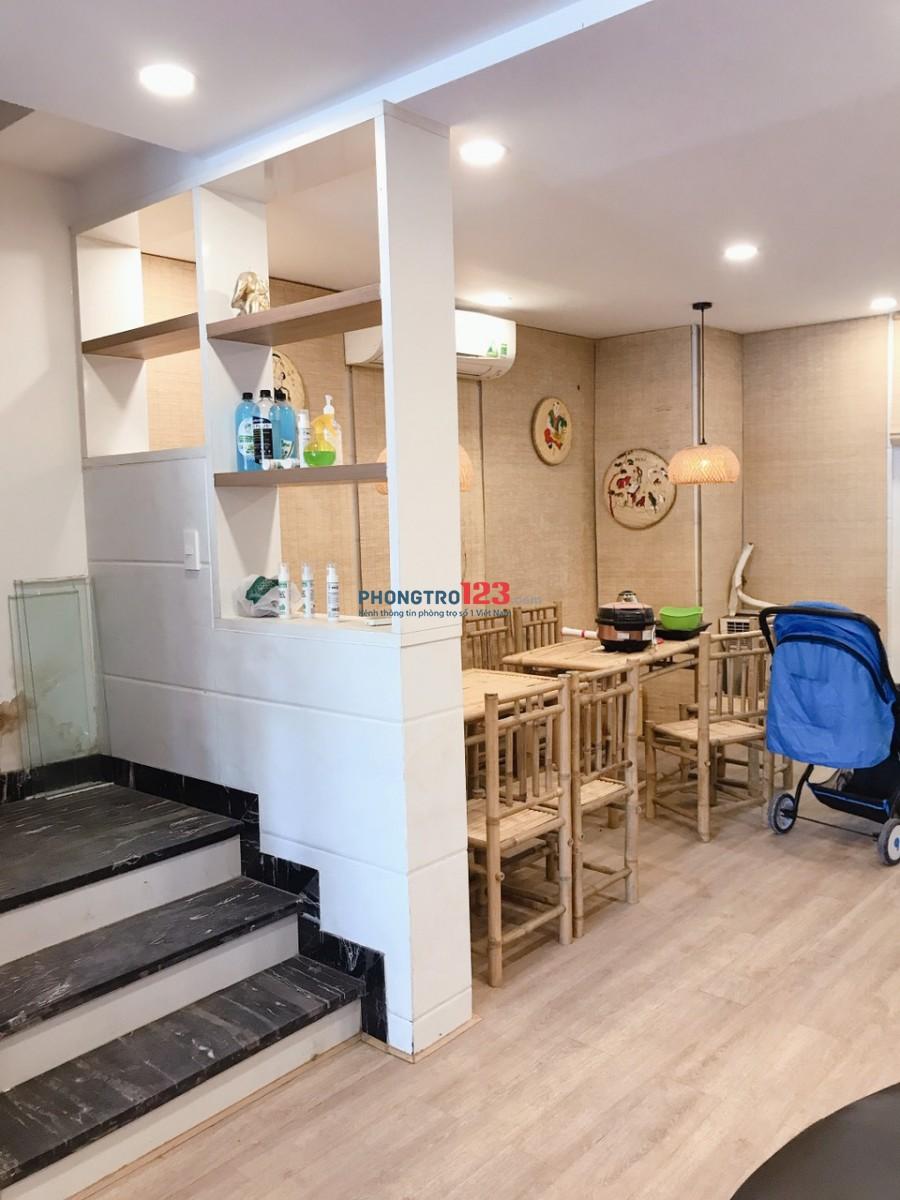 Cho thuê nhà nguyên căn Pegasuit 1 trệt 3 lầu mặt tiền Tạ Quang Bửu P6 Q8
