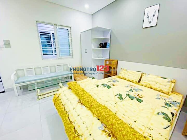 Cho thuê Căn hộ dịch vụ giá rẻ FULL nội thất - Gần ĐH Hutech Quận Bình Thạnh