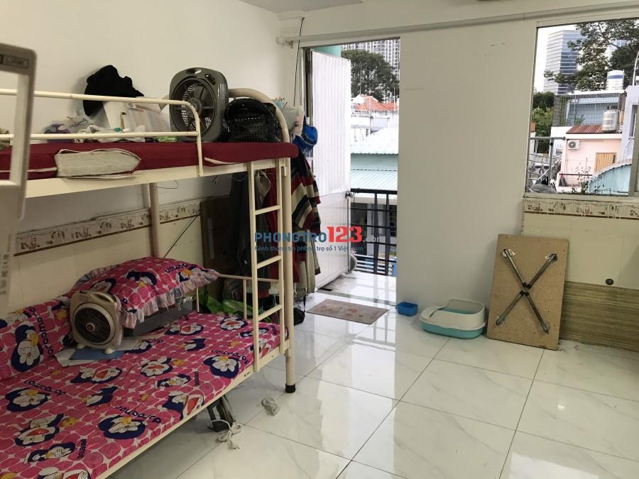 Cho thuê phòng 25m2 có máy lạnh tại 39 Đường Số 4 Cư xá Đô Thành P4 Q3 giá 3,5tr/th