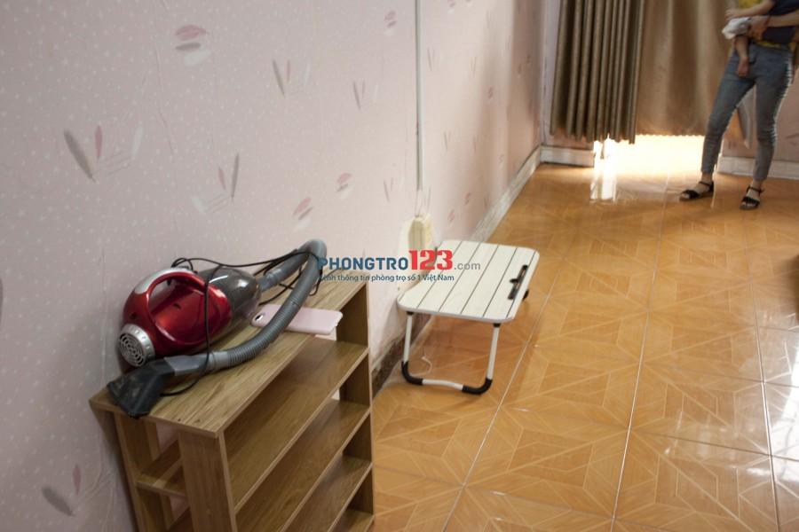 Phòng trọ phong cách homestay tại Bình Thạnh, có ban công, full nội thất