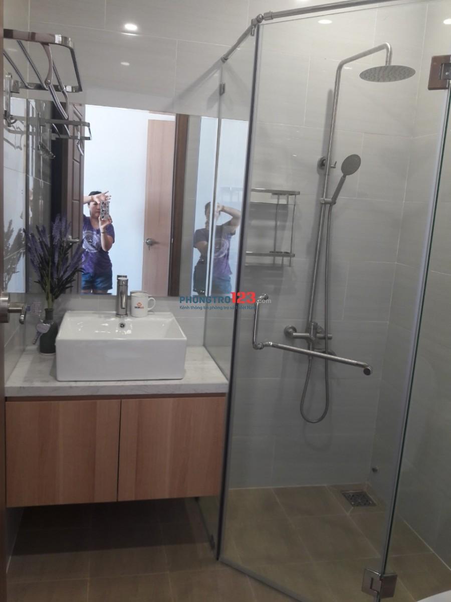 Cần cho thuê nhanh căn hộ Wilton Tower 2 phòng ngủ quận Bình Thạnh giá tốt nhất thị trường 15tr/tháng