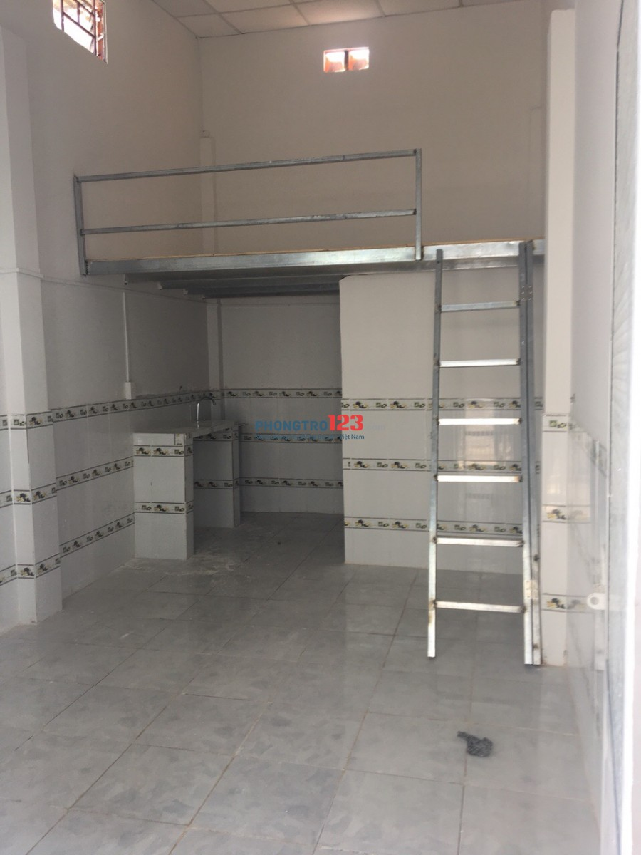 Phòng mới xây, trệt, không chung chủ, tự do, 43 đường số 6,p15, gv