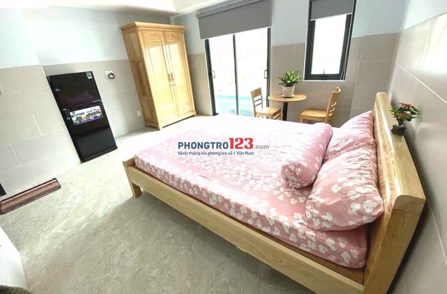 CHDV 35m² 1PN ban công full tiện nghi, Chu Văn An giá chỉ 5tr