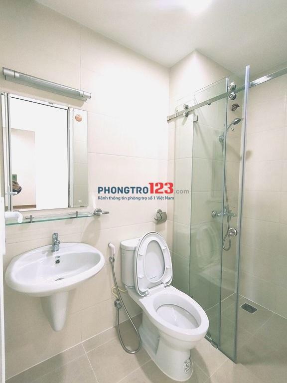 Phòng lớn 35m²,1PN ban công full NT Chu Văn An, giá 5tr2