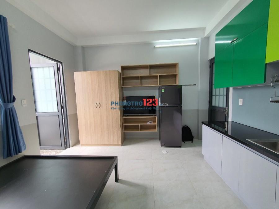 Studio đường đối diện Vincom q9 full nội thất, phòng mới tinh
