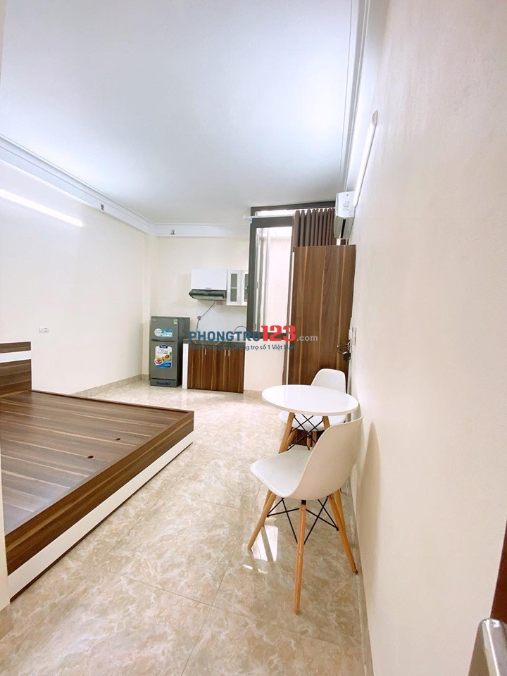 Căn hộ mini quận Tân Bình mới xây, full nội thất, cho nuôi thú cưng