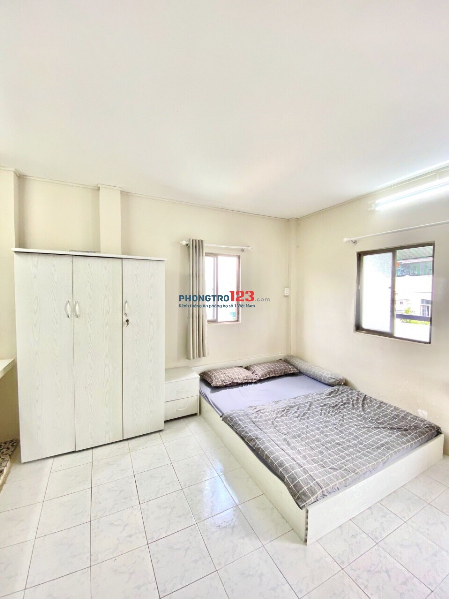 Cho thuê phòng giá rẻ 35m2 quận Tân Bình