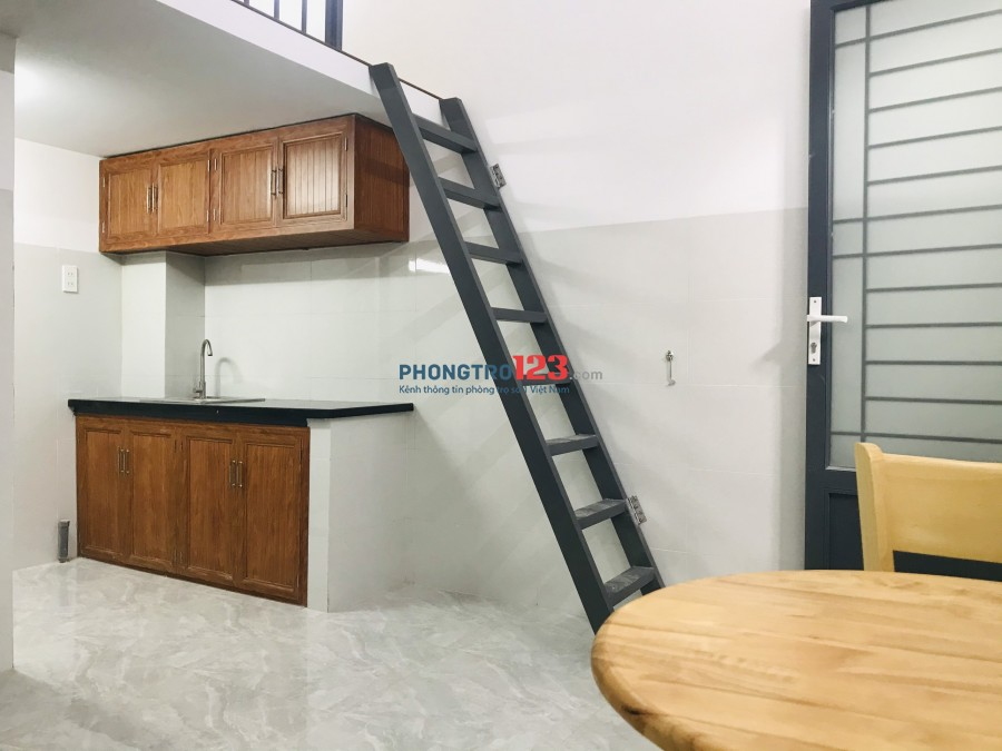 Cho thuê căn hộ mini Nguyễn Văn Công mới 100%