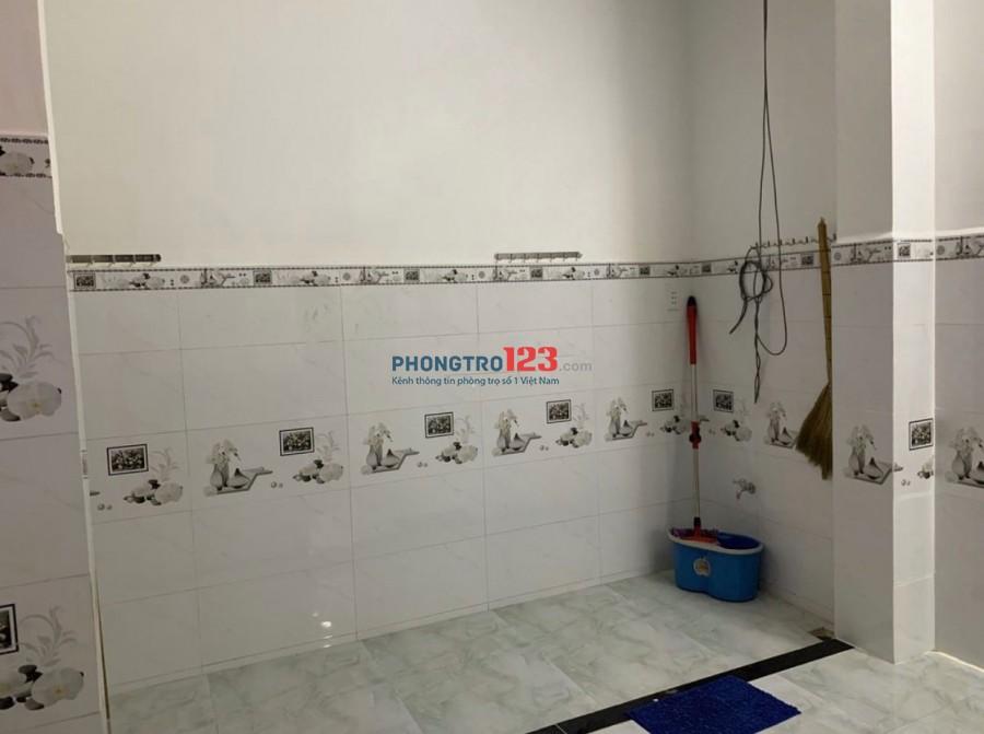 Cho thuê nhà NC mới xây 1 trệt 1 lầu 4x15 có 3pn tại Đường Liên Tỉnh 5 P5 Q8 giá 12tr/th