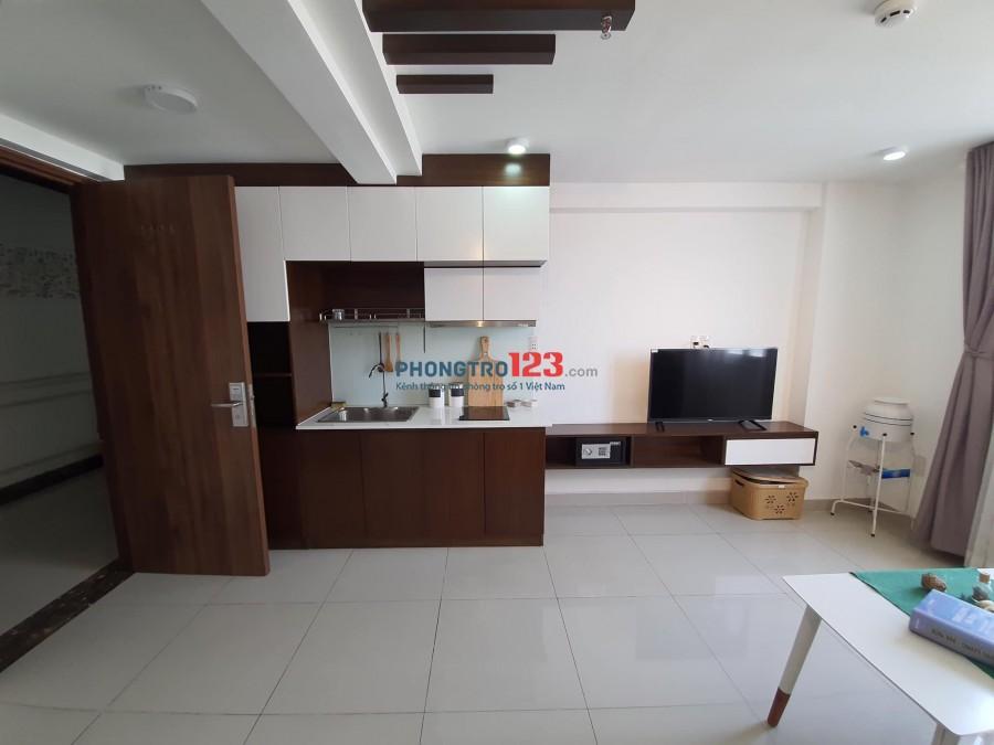 Cho thuê căn hộ dịch vụ dạng DUPLEX full nt gần BigC mặt tiền Nguyễn Thị Thập quận 7