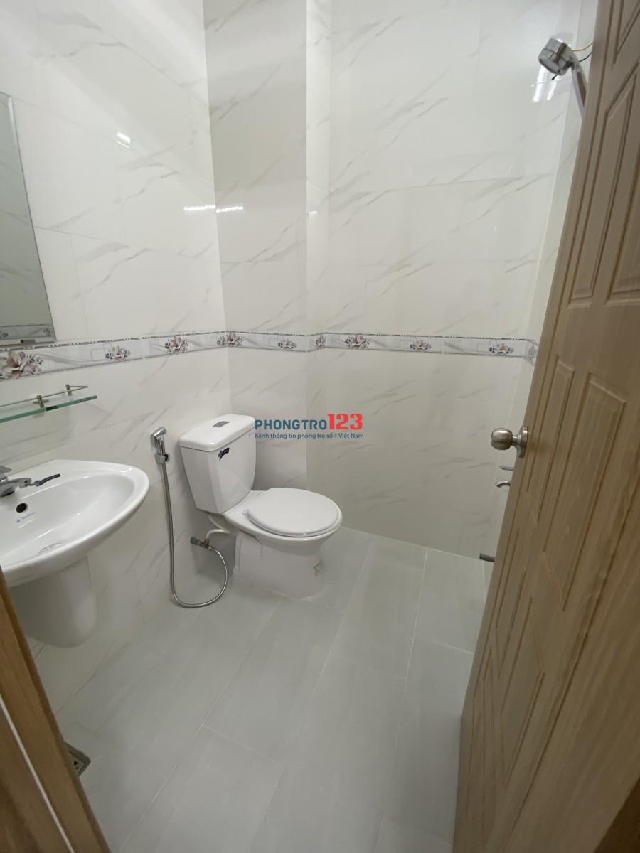 Phòng trọ Quận Tân Phú mới 100%
