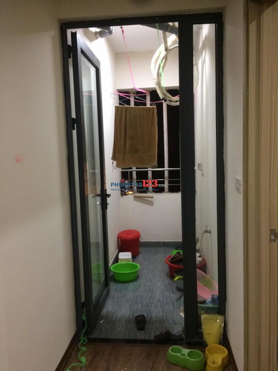 Cho thuê phòng trong căn hộ chung cư.