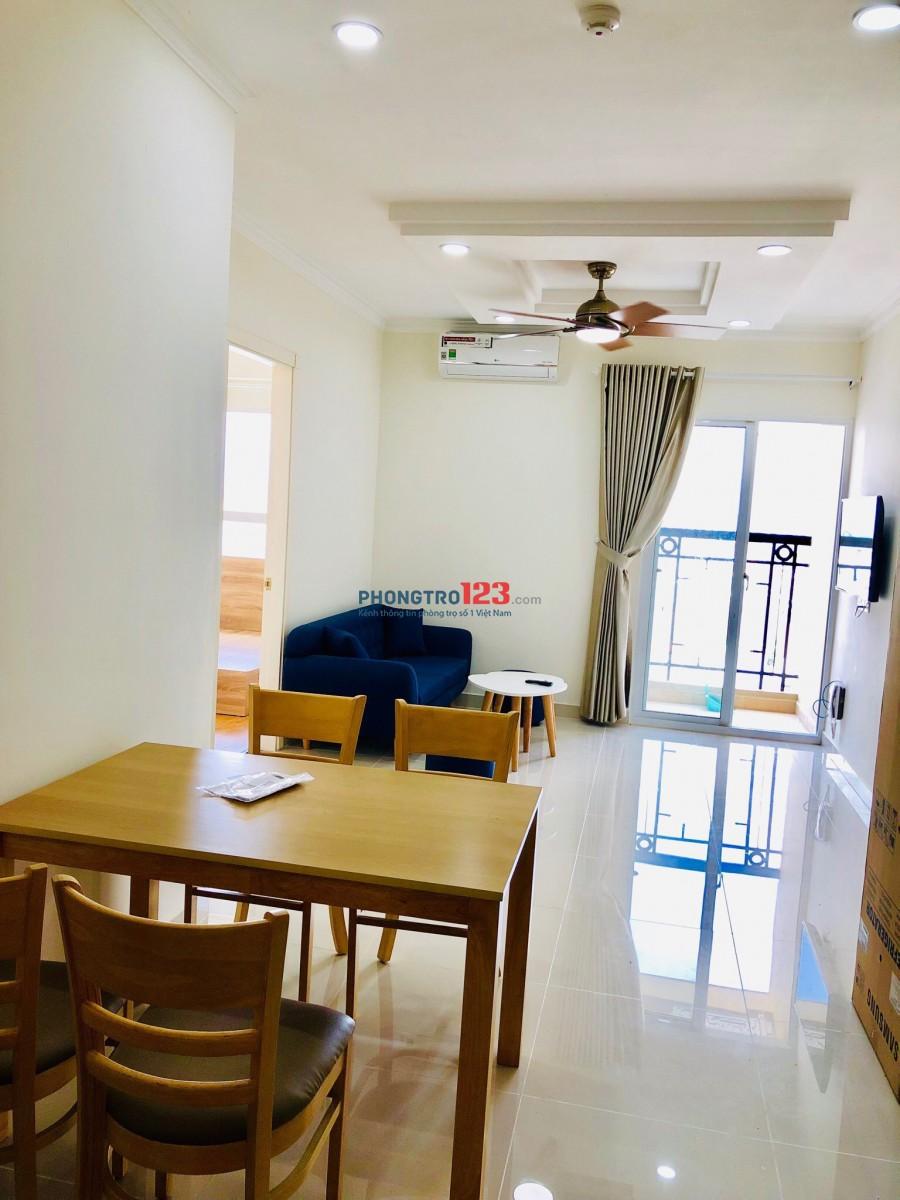 Cho thuê căn hộ Phúc Yên , Phan Huy Ích, Phường 15, Tân Bình. DT 85m2-2pn đầy đủ nội thất