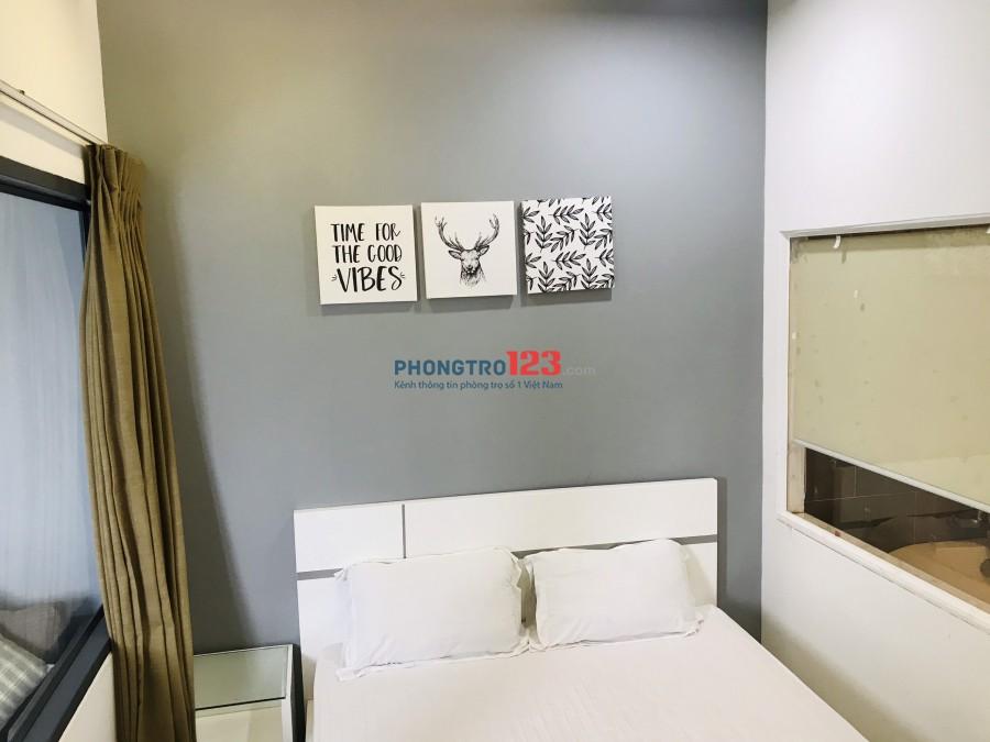 Cho thuê căn hộ dịch vụ 1PN - gần cầu NVC quận 8