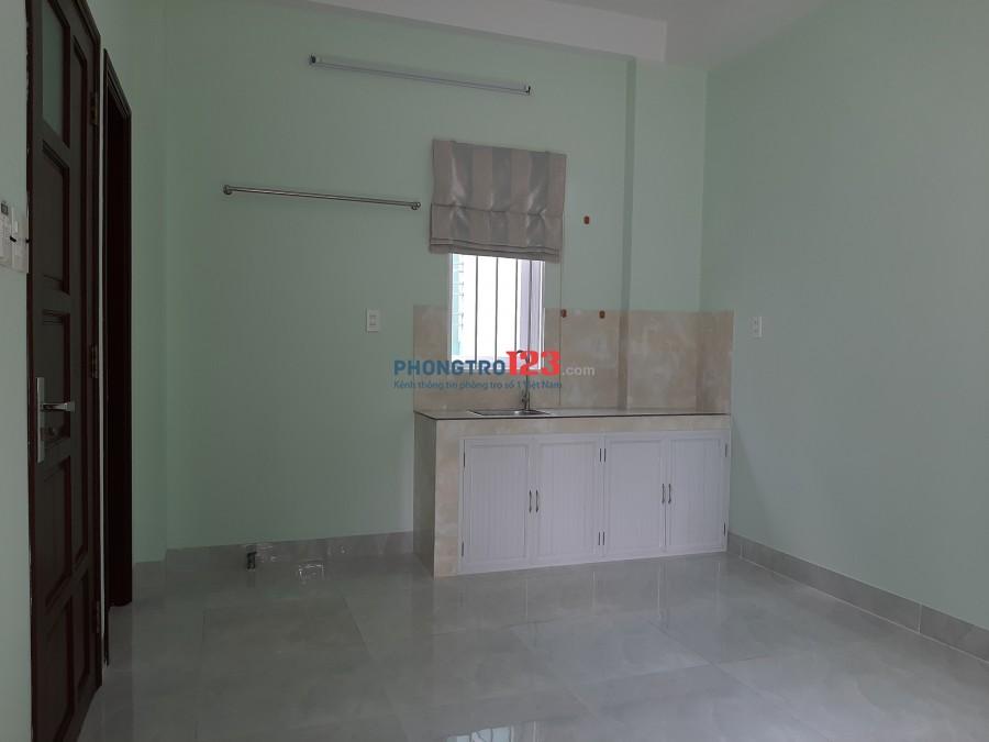 Cho thuê căn hộ mini, 1 phòng ngủ, 30m2 Q.11, view công viên